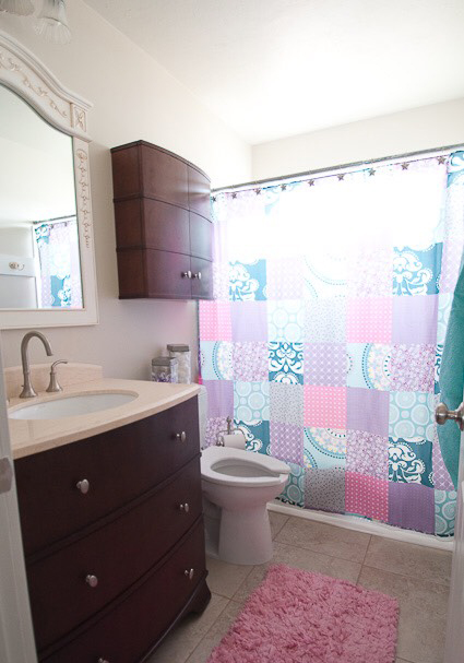 Start at Home Decor's Brooke Larson laying out a fresh look in her bathroom.
