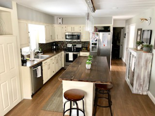 Always Never Done's Amy Geib looking to be done with her kitchen renovation and start her dream vacation.