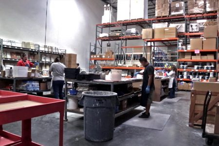 Our Sample Department handles business all day long, creating boards that eventually will be displayed at The Home Depot locations across America.