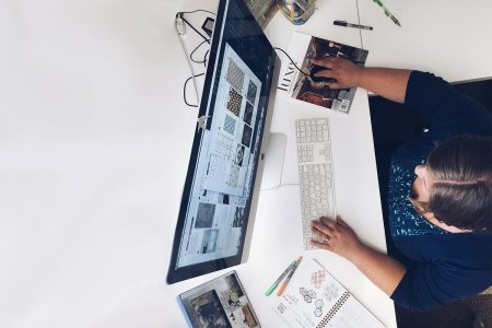 We are inspired by nature, however, our office location is not as picturesque. So we use a lot of Pinterest to help in our quest for inspiration.