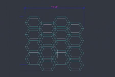 Autocad is a key player in the life of a tile.